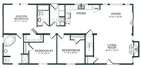 Single Wide Mobile Home Floor Plans - Free WebHosting