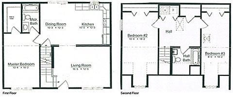 Floorplan of Model Chester