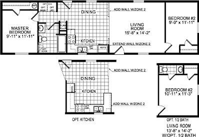 Floorplan of Model 7935