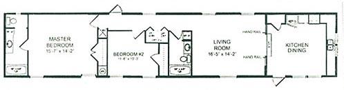 Floorplan of Model Arbor