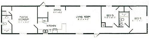 Floorplan of Model Village