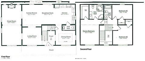 Floorplan of Model Westmore