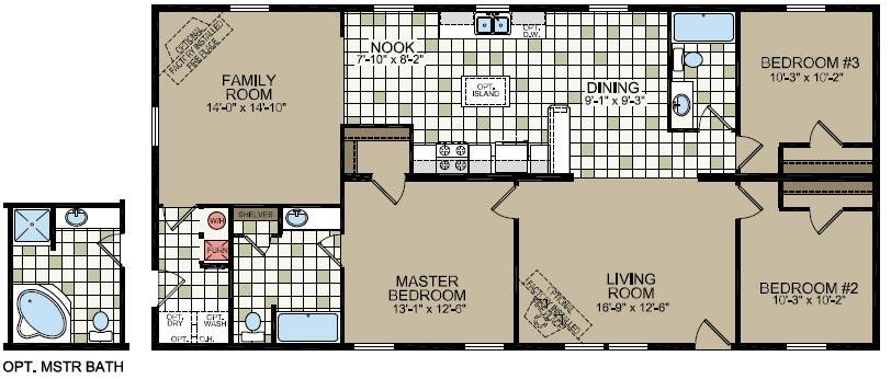 Titan homes model 749