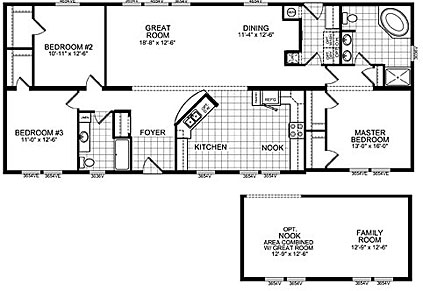 Double Wide Mobile Home Floor Plans | Double Wide Home Cairo NY on double wide mobile home dimensions, double wide bathroom layouts, double wide floor plans 2012,