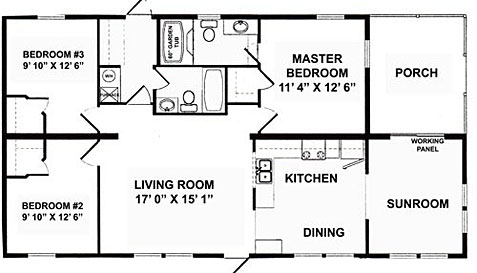 Log Cabin Mobile Home Floor Plans likewise Ab559d0c127bb3ac Detached In Law Suite Detached Mother In Law Suite Floor Plans likewise Double Wide Mobile Home Floor Plans besides 16 x 40 house plans in addition Double Wide Floor Plans 5 Bedroom. on 3 bedroom single wide mobile home floor plans