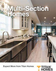 Titan Home Multi-Section Floorplans