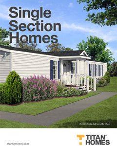 Titan Home Single-Section Floorplans